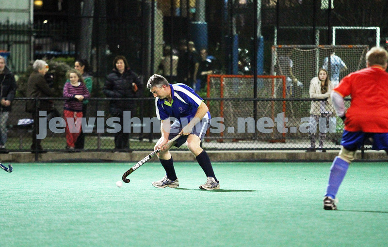 10-9-12. Maccabi veterens hockey defeat Hawthorn in the grand final 2-1. Photo: Peter Haskin