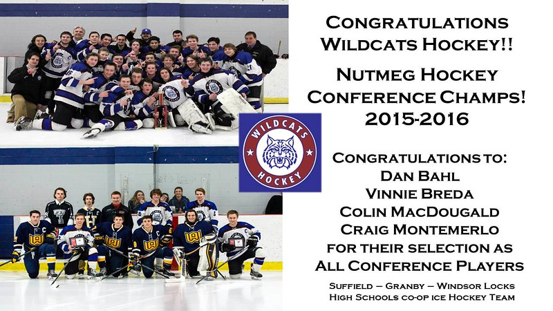 Wildcats Hockey Conference Champs