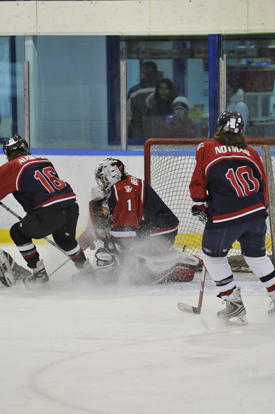 Action In Front Of Net