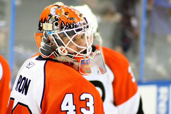 #43 Martin Biron © 2008 Joanne Milne Sosangelis. All rights reserved.