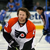 Scott Hartnell Philadelphia Flyers. © 2008 Joanne Milne Sosangelis. All rights reserved.