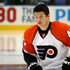 Arron Asham Philadelphia Flyers. © 2008 Joanne Milne Sosangelis. All rights reserved.
