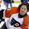 Daniel Carcillo. Philadelphia Flyers at Atlanta Thrashers. 20 March 2010.<br /> © Joanne Milne Sosangelis. All rights reserved.