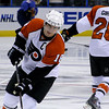 Mike Richards. Philadelphia Flyers at Atlanta Thrashers. 20 March 2010.<br /> © Joanne Milne Sosangelis. All rights reserved.