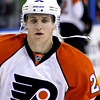 Matt Carle. Philadelphia Flyers at Atlanta Thrashers. 20 March 2010.<br /> © Joanne Milne Sosangelis. All rights reserved.