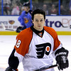 Daniel Briere. Philadelphia Flyers at Atlanta Thrashers. 20 March 2010.<br /> © Joanne Milne Sosangelis. All rights reserved.