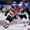 Riley Cote (#32). Philadelphia Flyers at Atlanta Thrashers. 20 March 2010.<br /> © Joanne Milne Sosangelis. All rights reserved.