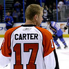 Jeff Carter. Philadelphia Flyers at Atlanta Thrashers. 20 March 2010.<br /> © Joanne Milne Sosangelis. All rights reserved.