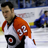 Riley Cote. Philadelphia Flyers at Atlanta Thrashers. 20 March 2010.<br /> © Joanne Milne Sosangelis. All rights reserved.
