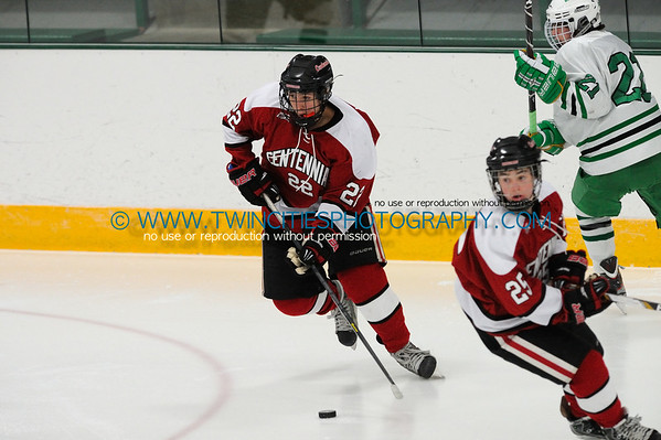#22 TYLER LAWRY Edina Hornets vs. Centennial Cougars Junior Varsity HockeyOrder a photo print of any photo by clicking the 'Buy' link above.   TIP: Click the photo above to display a larger size