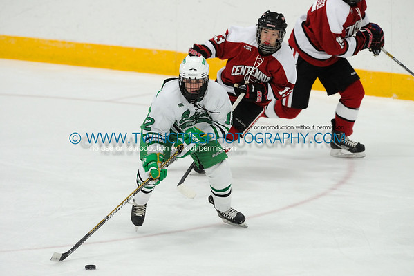 #12 SAM FUSS#13 RITCHIE MENNE Edina Hornets vs. Centennial Cougars Junior Varsity HockeyOrder a photo print of any photo by clicking the 'Buy' link above.   TIP: Click the photo above to display a larger size
