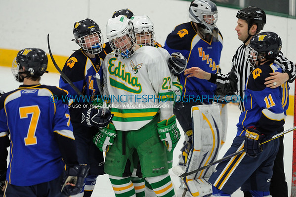 #  Edina Hornets vs. Wayzata Trojans Junior Varsity HockeyOrder a photo print of any photo by clicking the 'Buy' link above.   TIP: Click the photo above to display a larger size