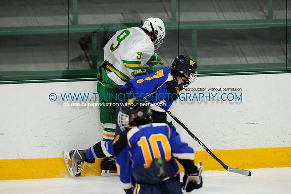 #9 KEVIN COTE#7 MITCHELL KOWALSKI  Edina Hornets vs. Wayzata Trojans Junior Varsity HockeyOrder a photo print of any photo by clicking the 'Buy' link above.   TIP: Click the photo above to display a larger size