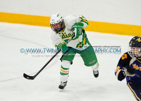 #14 JACK HULSTRAND  Edina Hornets vs. Wayzata Trojans Junior Varsity HockeyOrder a photo print of any photo by clicking the 'Buy' link above.   TIP: Click the photo above to display a larger size