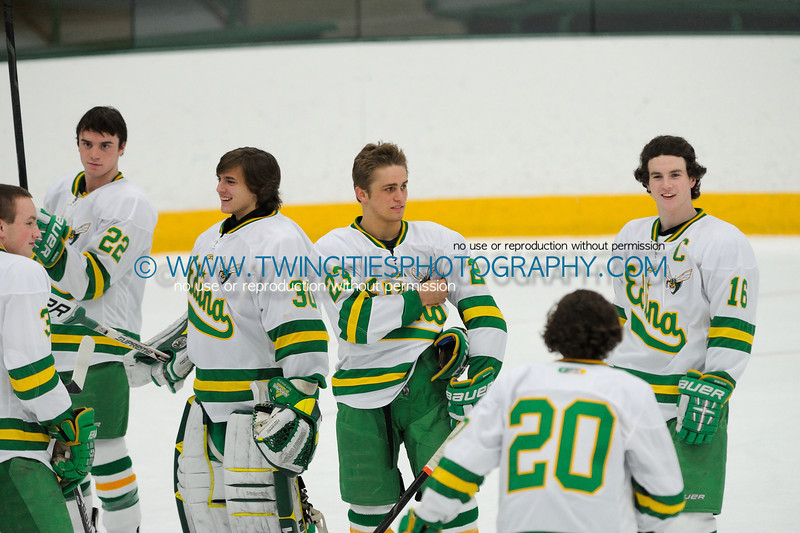 """<font size=""""3"""" face=""""Verdana"""" font color=""""white"""">#23 TYLER NANNE<BR>#16 CONNOR HURLEY</font><br><p> <font size=""""2"""" face=""""Verdana"""" font color=""""turquoise"""">Edina Hornets vs. Wayzata Trojans Varsity Hockey</font><br><font size=""""1"""" face=""""Verdana"""" font color=""""white"""">Order a photo print of any photo by clicking the 'Buy' link above.</font>  <font size = """"1"""" font color = """"gray""""><br> TIP: Click the photo above to display a larger size</font>"""