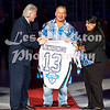 """Prior to the start of Saturday night's game against the Allen Americans, the Tulsa Oilers will hold a ceremony to honor the five member of the Central Hockey Leauge Hall of Fame Class of 2013.  Oilers legend Doug Lawrence will be recognized along with Doug Sauter, Hardy Sauter, Brad Lund, and N. Thomas Berry.<br /> Arguably, the most popular and most recognizable player to ever put on an Oilers jersey, Lawrence spent nine seasons in Tulsa from 1992-2002.  Known for his toughness, loved by fans for his tenacity, and revered around the league for his skill, the Richmond, British Columbia native played a key role in leading the Oilers to the 1992-93 CHL Championship.  In Tulsa's run to a title, Lawrence recorded 61 points (14 goals, 47 assists) in 38 regular season games.  He posted 18 points in the postseason which culminated with Tulsa's 4-1 series victory over the rival Oklahoma City Blazers.<br /> Over the next decade, the man who became known simply as """"Dougie"""" would be the face of the Oilers franchise.   Lawrence played 428 games in a Tulsa uniform and also spent brief period of time with the Memphis Riverkings (1992), the Oklahoma City Blazers (1995-96), and the Bossier-Shreveport Mudbugs (1999-00).  Lawrence ranks number one all-time in the CHL with 684 career assists and tops the league charts with 2,109 penalty minutes.  His 875 career points put him in fourth place on the CHL's all-time points list and he still holds the CHL single season assist record with 100 helpers during the 1996-97 campaign.<br /> A three-time CHL All-Star (1998, 1999, and 2000), Lawrence tallied 127 points in 1996-97, tying him with former teammate Luc Beausoleil for the Oilers single season record.   Four times as an Oiler, Lawrence reached the 100-point plateau in a regular season and he helped lead Tulsa to seven playoff appearances.<br /> On January 23, 2009, the Oilers retired Lawrence's jersey.  A #9 banner hangs high in the rafters at the BOK Center as a constant reminder of La"""