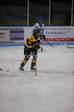2014-01-09 JEF/JFK Hockey Girls JV vs Burnsville