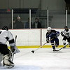 3rd period action goal attempt 2