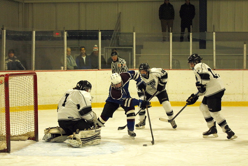 1st period action 5 goal 1 attempt