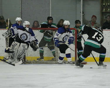 2nd period action goalie