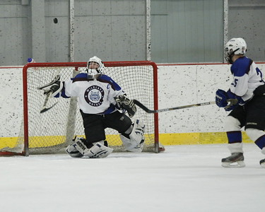 1st period action 3 goalie