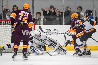 Hockey: Broad Run vs Loudoun County and Tuscarora 1.11.2019
