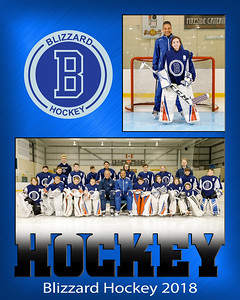 Blizzard Hockey - Mount Pearl Glacier