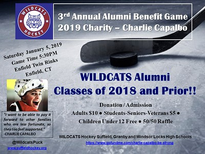 Wildcats Hockey 3rd Annual Alumni Game