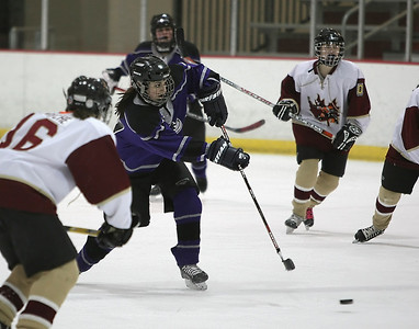 Buffalo vs Osseo/Maple Grove U14A Girls Hockey (Feb 9, 2008)
