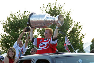 Canes Stanley Cup Parade 2006