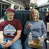 Caps Road Crew: Boston On the Train