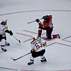 Caps (3) vs Bruins (2) Preseason at Verizon Center Mathieu Perreault  scores with a Snap Shot at 8:40 in the 1st