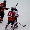 Caps vs Devils  Mike Green and Ilya Kovalchuk fight