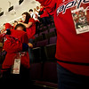 Caps (3) vs Senators (2) at Verizon Center: Cameron is hiding from the camera