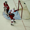 Washington Capitals vs Carolina Hurricanes at Verizon Center: Eric Staal beats Jose Theodore in a penalty shot