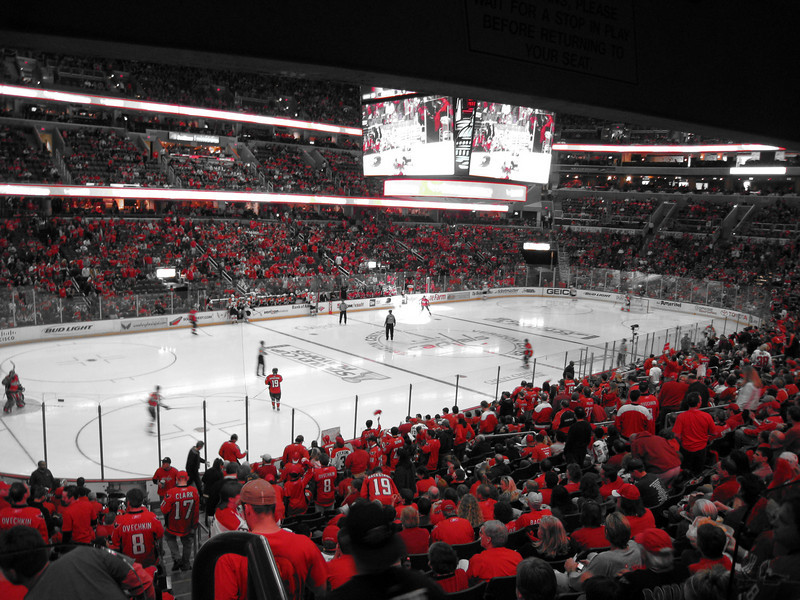 Caps vs. Flyers Playoffs Game 2