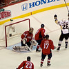 Pittsburgh's Fedotenko celebrates a goal by Mark Eaton in the second. Washington Capitals vs Pittsburgh Penguins Stanley Cup Playoffs Round 2 Game 1 at the Verizon Center, May 02, 2009