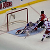 Washington Capitals face the New York Rangers in a must win Eastern Conference Quarterfinals Game Five at the Verizon Center in Washington DC (April 24, 2009)Matt Bradley Scores the First Goal. Washington Capitals face the New York Rangers in a must win Eastern Conference Quarterfinals Game Five at the Verizon Center in Washington DC (April 24, 2009)