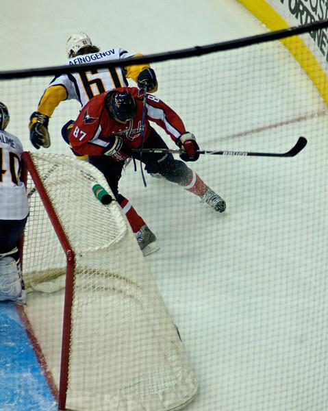 Caps (3) vs Sabres (2) (December 26, 2008)