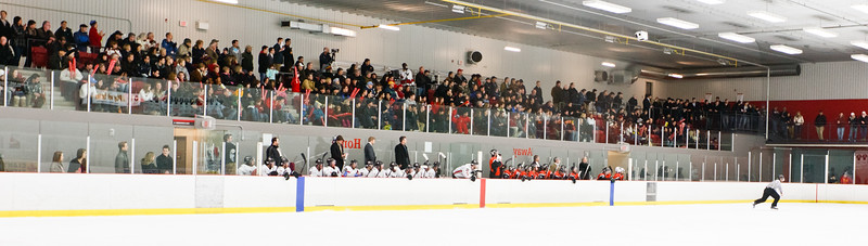Sell Out Crowd in the Ice House