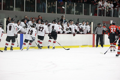 Ravens celebrating Andrew Self's goal (MURR3319) Ravens celebrating Andrew Self's goal (MURR3319)