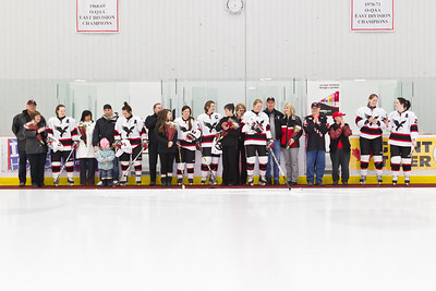 Ceremony for graduating players