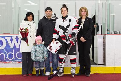 Claudia Bergeron and Family
