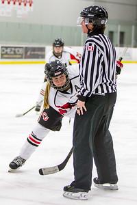 Sadie Wegner face off