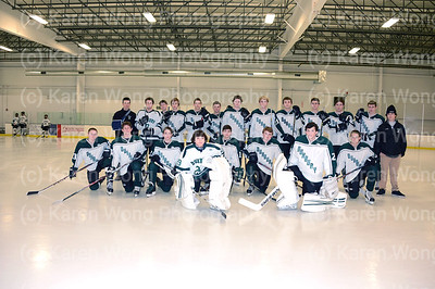 DHS Boys JV Hockey vs BCH 1-18-14