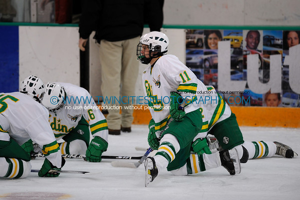 Edina High School Hockey vs. Cloquet-Esko-Carlton High School Lumberjacks Boys Hockey Team.  #11 - Andy Jorgensen - January 2009 Order a photo print of any photo by clicking the 'Buy' link above.  TIP: Click the photo above to display a larger size