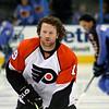 Scott Hartnell Philadelphia Flyers. © 2008 Joanne Milne Sosangelis. All rights reserved.