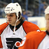 Riley Cote Philadelphia Flyers. © 2008 Joanne Milne Sosangelis. All rights reserved.
