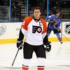 Mike Richards Philadelphia Flyers. © 2008 Joanne Milne Sosangelis. All rights reserved.