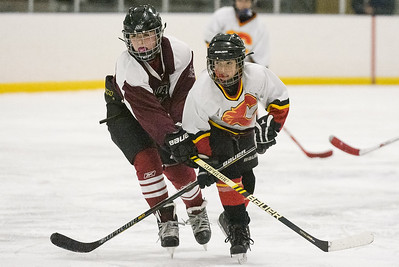 Cortland Flames Pee Wee Red vs Jefferson Jaguars. Flames beat the Jaguars 7-6.